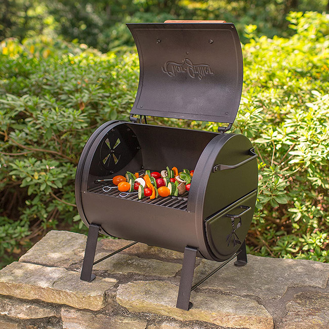Char Griller Table Top Charcoal Grill Outdoors