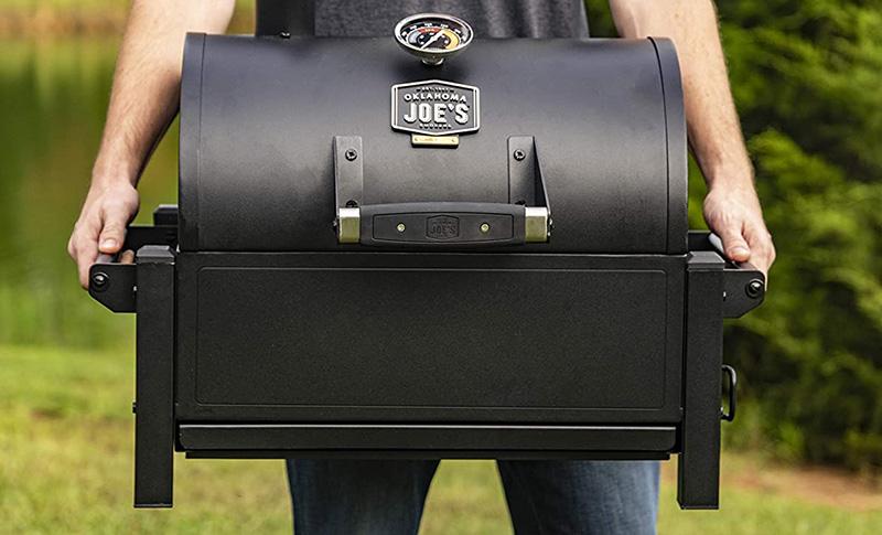 Oklahoma Joe's Rambler Portable Charcoal Grill Outdoor