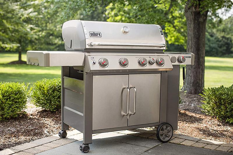 Weber Genesis II S-435 4-Burner Liquid Propane Grill Outdoor