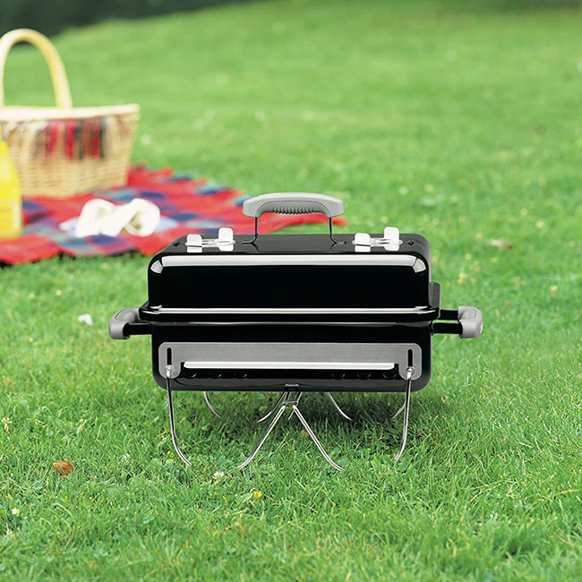 Weber Go-Anywhere Charcoal Grill Outdoors