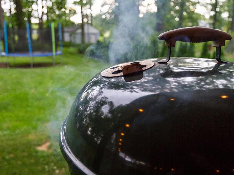 Weber Original Kettle Premium Charcoal Grill Outdoor
