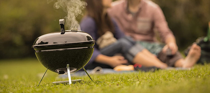 Weber Smokey Joe Portable Grill Outdoors